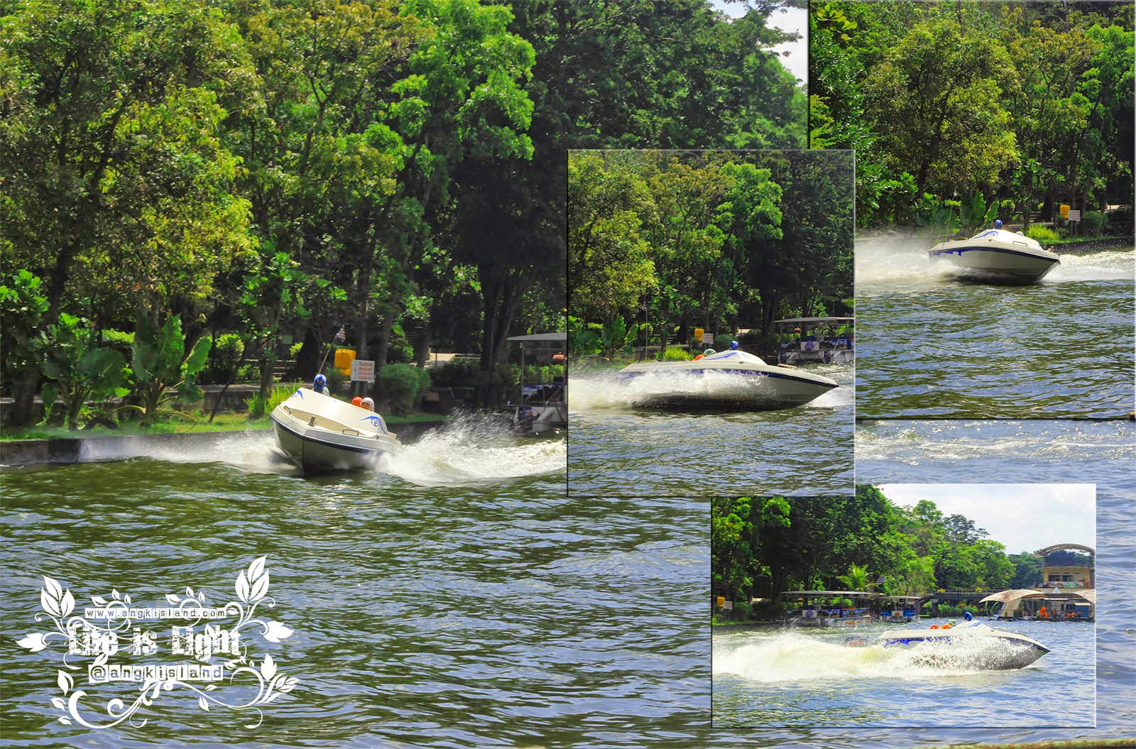 speed boat Gembiraloka