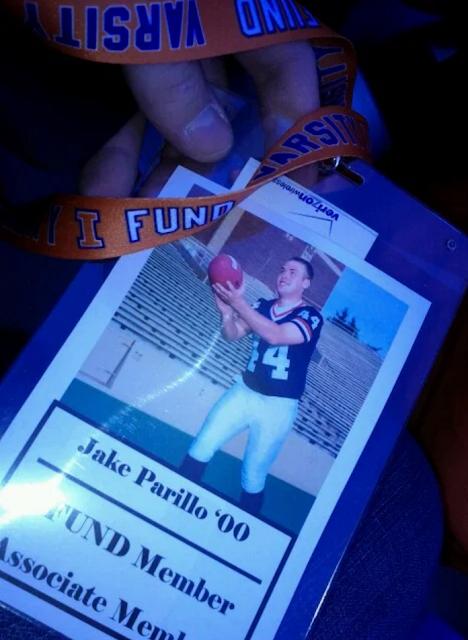 Jake Parrillo Punter University of Illinois Football
