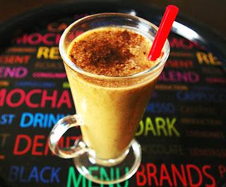 smoothie kawowe, koktajl kawowy