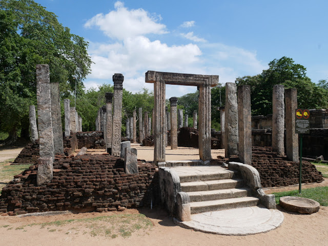 Old parliament ruins - Polonnaruwa, Sri Lanka