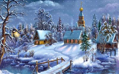 Free Christmas Wallpaper & Backgrounds Images