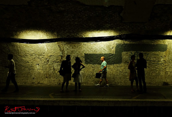 Metro station under renovation. If you're going to the Cité.. Shots from Paris on June 26 2017 for Street Fashion Sydney.