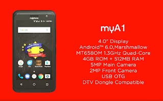 MyPhone MyA1 – Phone Specs, Price and Features