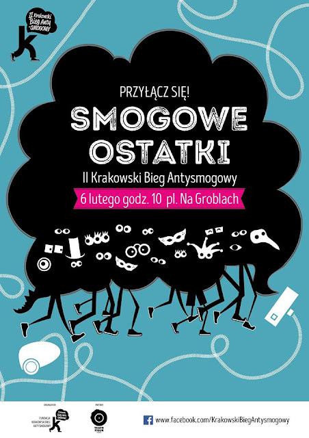 SMOGOWE OSTATKI. II Krakowski Bieg Antysmogowy
