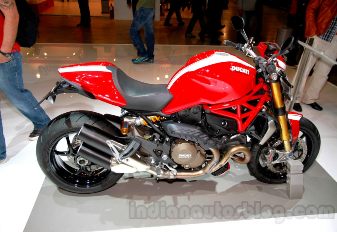 MF Report Ducati Monster 1200 S 821 Stripe editions unveiled at