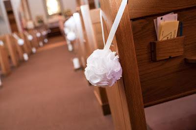 Igrejas decoradas para casamento