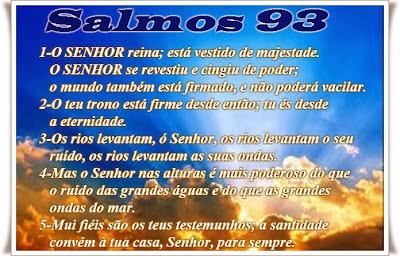 Resultado de imagem para Salmos 93