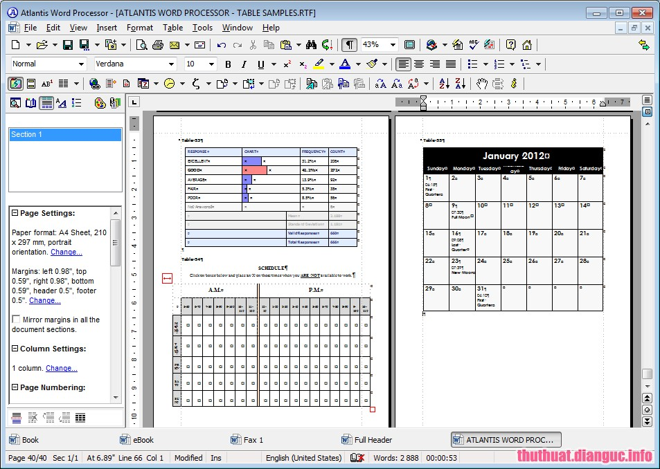 Download Atlantis Word Processor 3.2.5 Full Cr@ck – Phần mềm xử lý văn bản