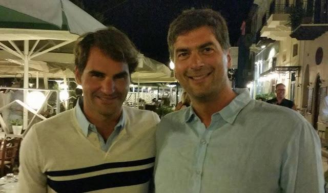 Ούτε στα πιο τρελά του όνειρα: Όταν ο Κώστας συνάντησε τον Roger Federer στο Ναύπλιο