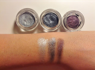 e.l.f. Studio Long-Lasting Lustrous Eyeshadow celebration party festivity swatches