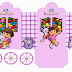 Dora: Princess Carriage Shaped Free Printable Boxes.