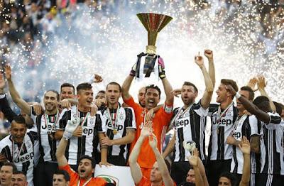 Klasemen Akhir Liga Italia, Update Senin 16/5/2016: Juventus Juara, Napoli dan AS Roma Raih Tiket Liga Champions