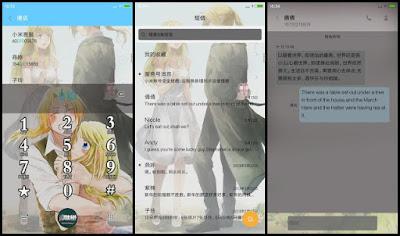 Tema Xiaomi Anime