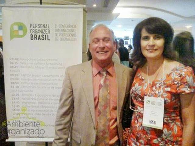 Ambiente Organizado - Sonia Hecher com Barry Iszak