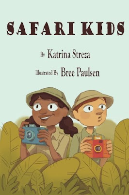 Safari Kids - A brother and sister head out to the zoo with cameras in hand. Kids who love animals will appreciate the illustrations and all will like the rhythm and rhyme of the story.