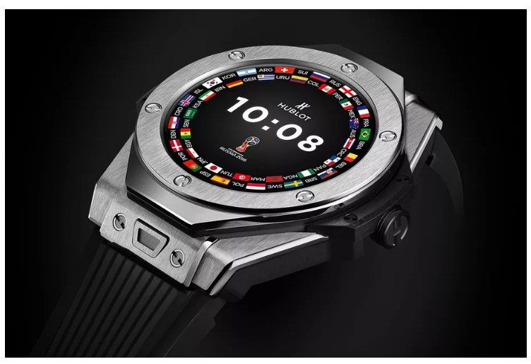 New Hublot's Wear OS For Russia World Cup 2018 Referees