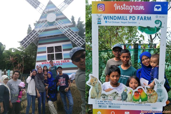 Windmill PD Farm, Tempat Menarik Baharu di Port Dickson