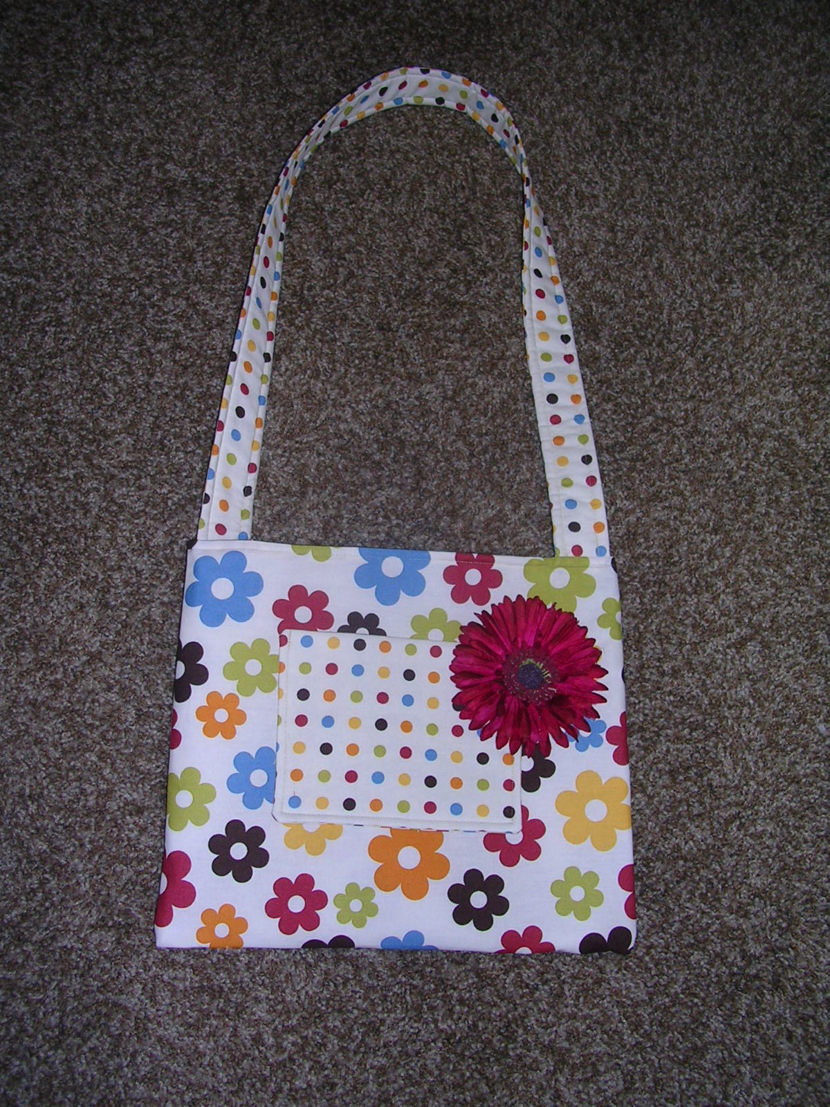 Therapeutic Crafting Little Girls Shoulder Bag Tutorial