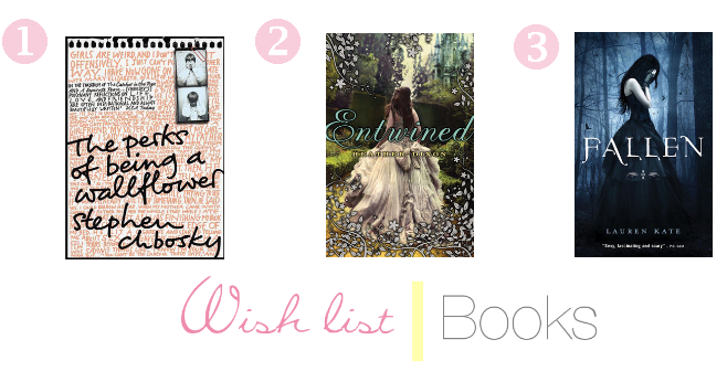 Wish list | Books