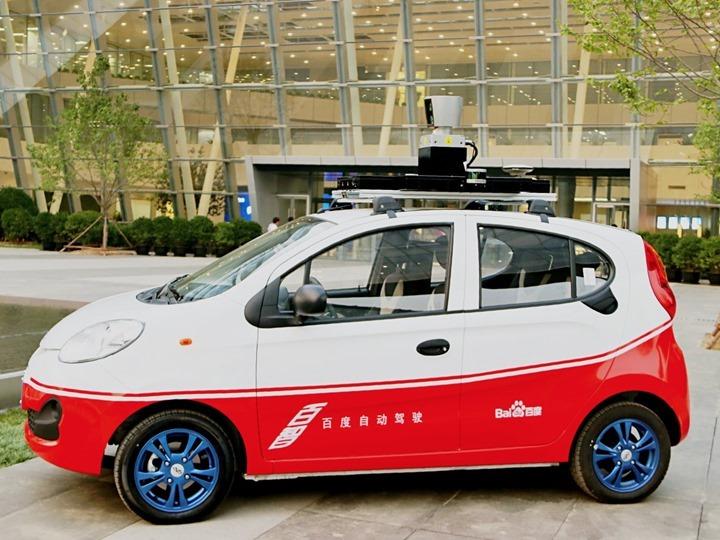 Carro da Baidu