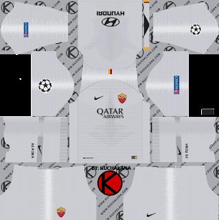 as-roma-nike-kits-2018-19-dream-league-soccer-%2528away%2529-ucl
