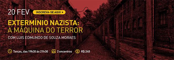 """Casa do Saber/RJ promove curso """"Extermínio nazista: a máquina do terror"""""""