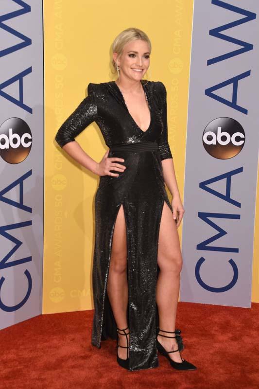 Jamie Lynn Spears photo shoot for 50th Annual CMA Awards ...