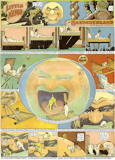Little Nemo visits the Moon cartoon