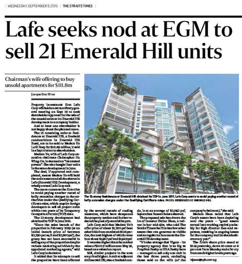 Emerald Hills Apartments: Remembering Lee Kuan Yew: Lafe