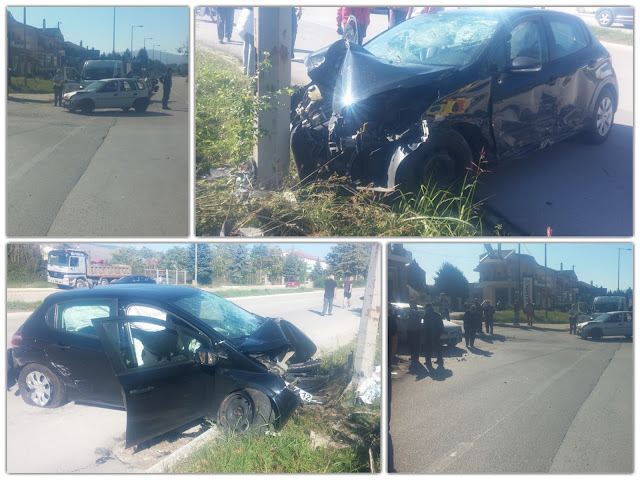 ΓΙΑΝΝΕΝΑ-Τροχαίο με σύγκρουση 3 οχημάτων,έξω από