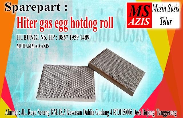 Sparepart Hiter Gas Egg Hotdog Roll