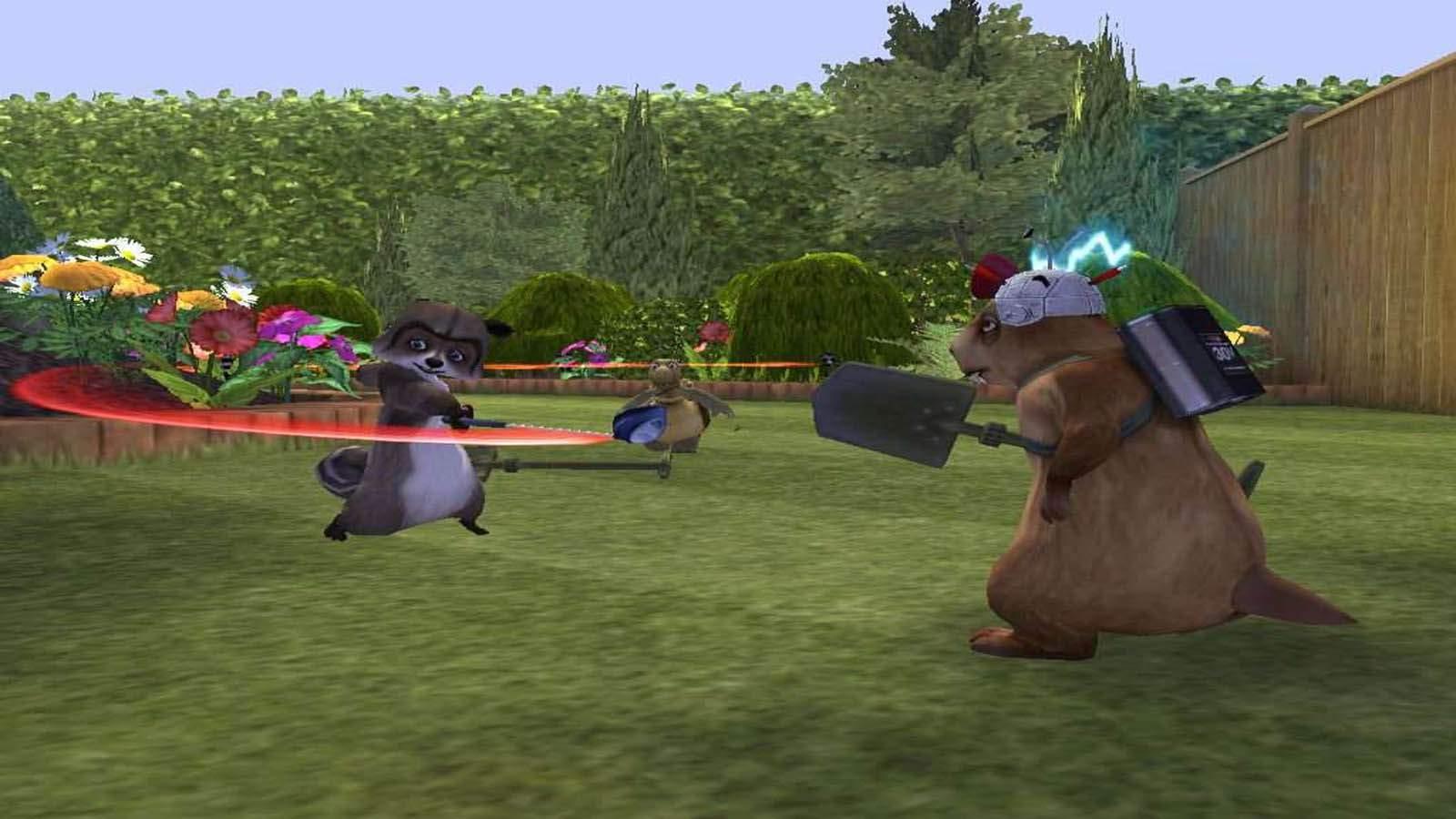 تحميل لعبة Over The Hedge مضغوطة برابط واحد مباشر كاملة مجانا