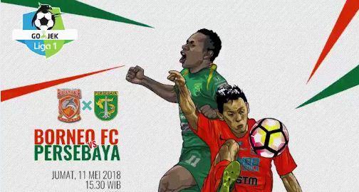 Borneo FC vs Persebaya