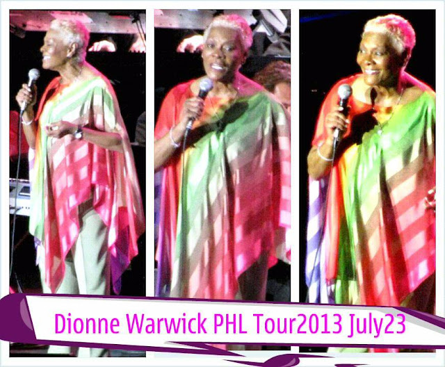 Dionne Warwick Phil Tour
