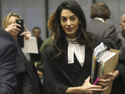 Evolution Revolution: Fashion Friday: Amal Clooney