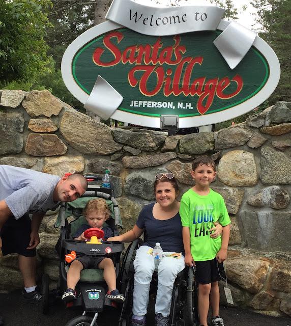 """Santa's Village -- """"Pure Joy. Family Style."""""""