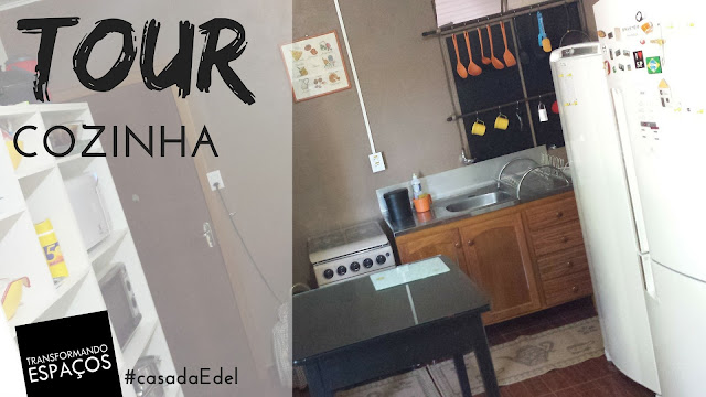Tour pela minha cozinha | Casa de Personal Organizer