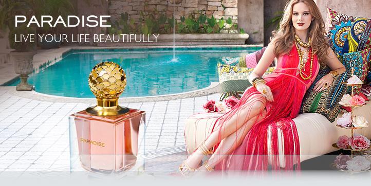 1219713bf6 Descripcion del perfume: Delicado aroma floral de Jazmin, Pimienta rosa y  Almizcle.