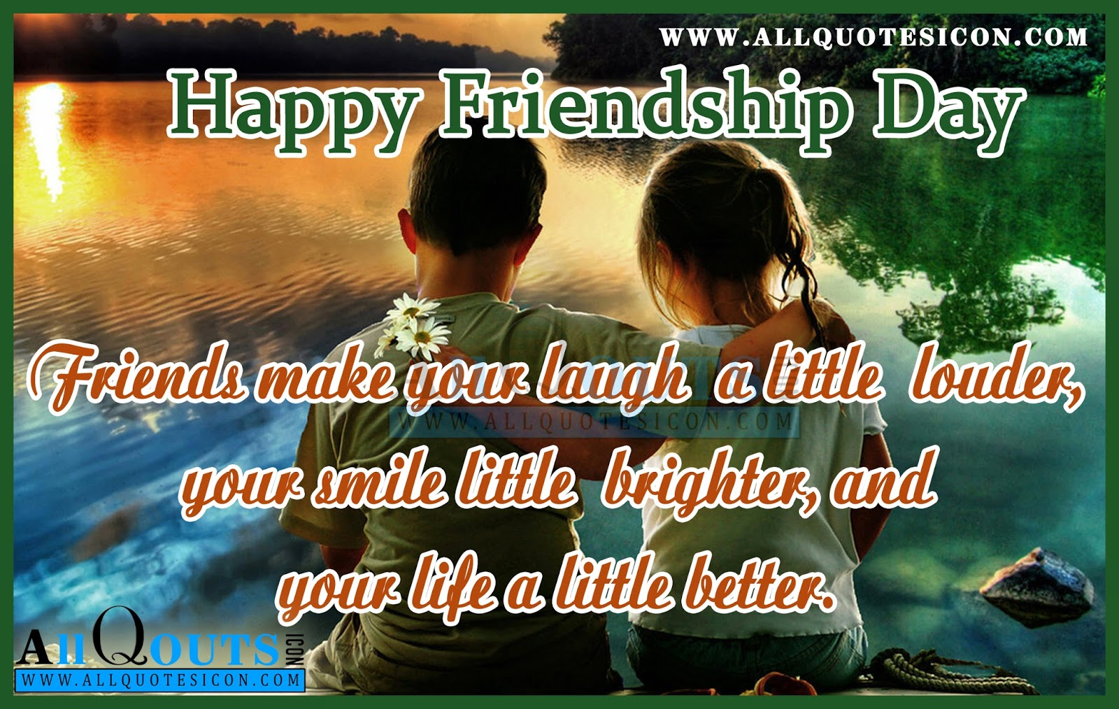 Friendship Day 2016 Best Quotes With Images In English Friendship