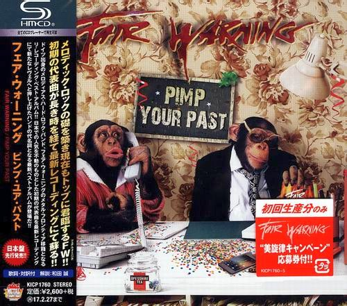 FAIR WARNING - Pimp Your Past [Japanese Edition SHM-CD] (2016) full