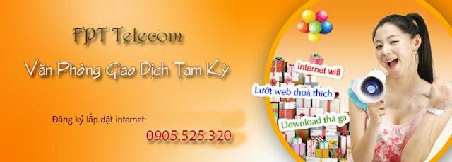 Lắp Đặt Internet FPT Phường Tân Thạnh, Tp tam Kỳ