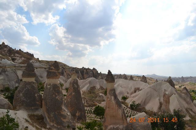 chamines de fada - historia capadocia turquia