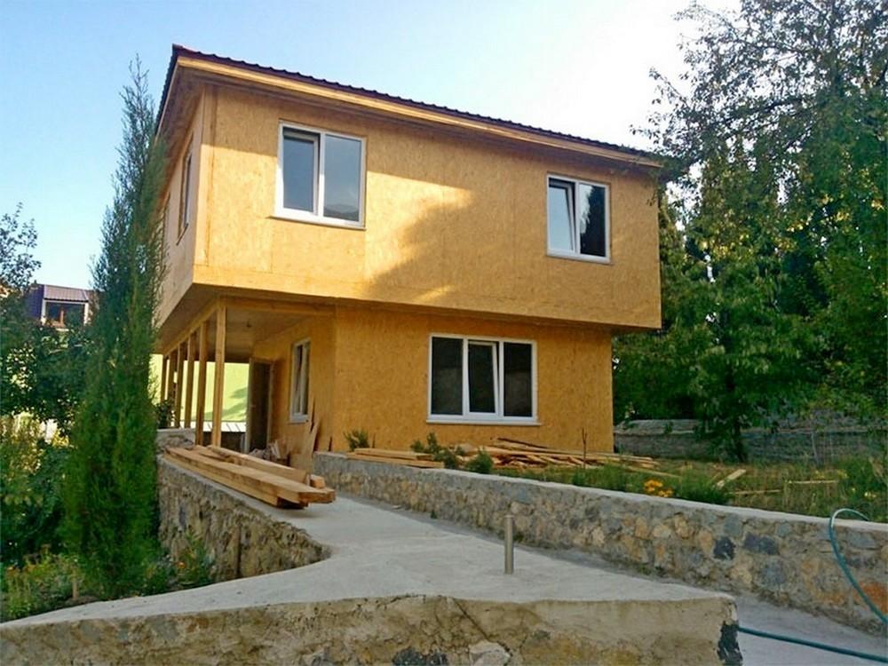 Дома из сип панелей в Крыму цена