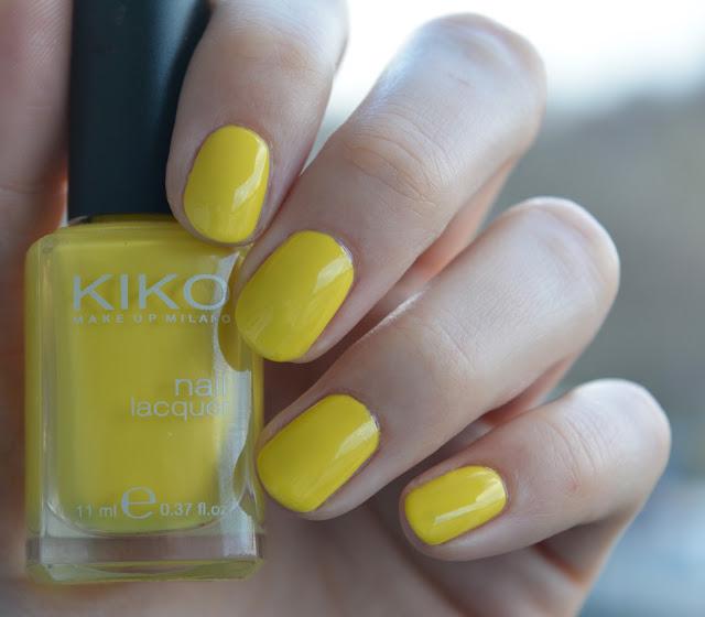 [Nagellack] Frühling mit Kiko - 355