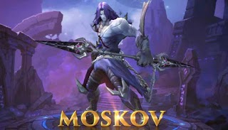Mobile Legends 31st Hero Moskov, Skills of a Marksman and Gameplay