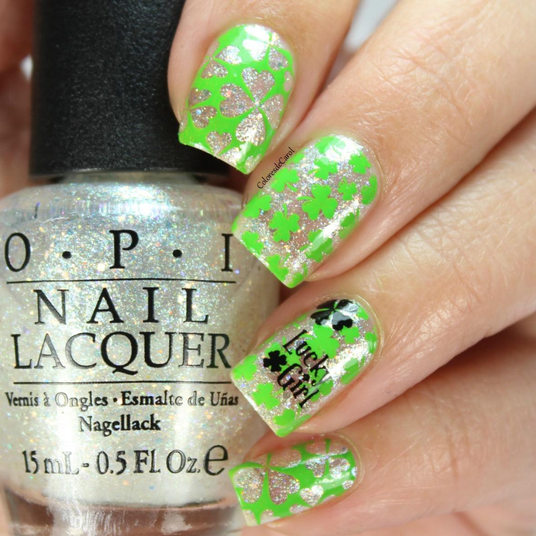 Colores de Carol: St. Patrick\'s Day Nails.