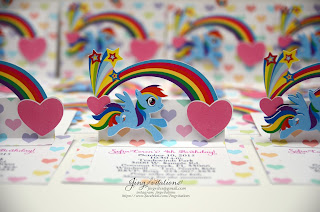 little pony invitations