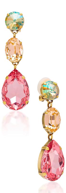 Roxanne Assoulin Hip Hop But Not Gold-Plated Swarovski Crystal