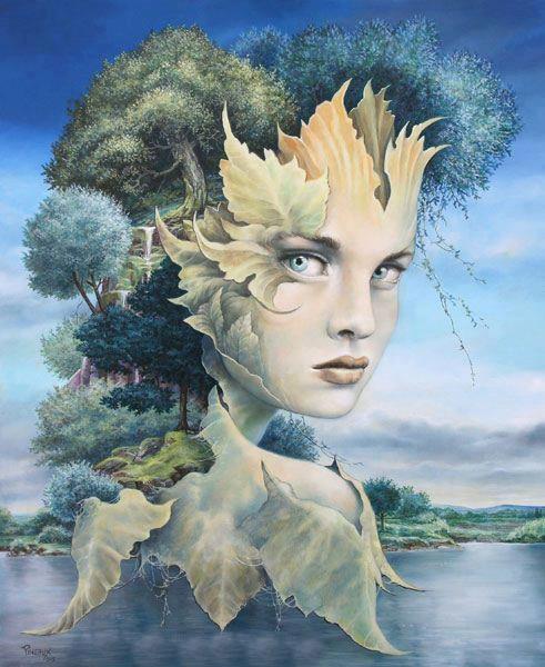 séverine pineaux 1960 fantasy painter tutt art pittura