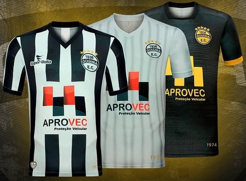 Super Bolla divulga as novas camisas do Goiânia - Show de Camisas 81441cb689978